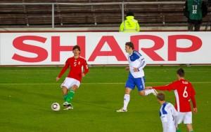 FUSSBALL: EURO 2012, Qualifikation, Finnland - Ungarn 1:2, Helsinki, 12.10.2010